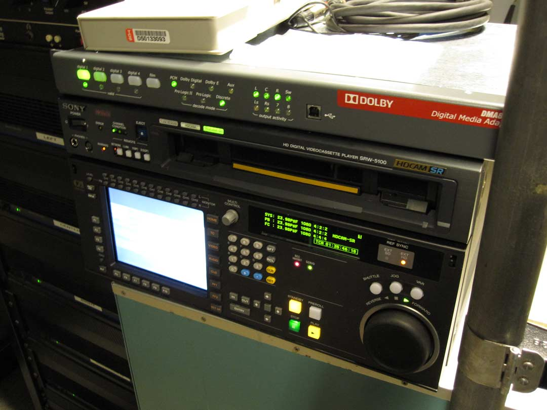 dolby audio video equipment