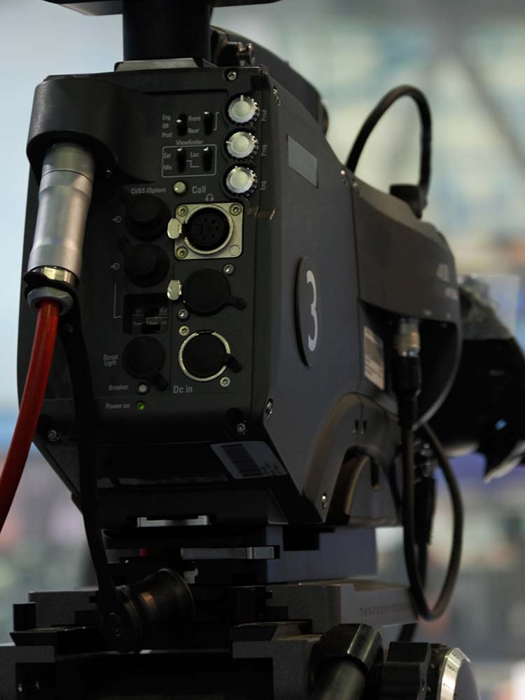 professional camera for webcasting
